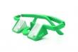 Sicherungsbrille Plasfun Grün