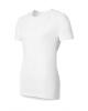 Shirt SS Crew Neck Cubic white