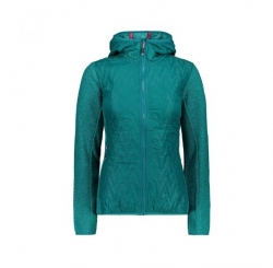 Fix Hood Hybrid Jacket Damen