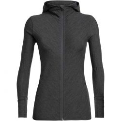 Descender LS Zip Hood Damen